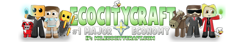 EcoCityCraft Community | Economy Minecraft Servers